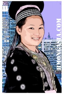 hmong cartoon girl