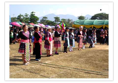 Hmong New Year 2010 Woman